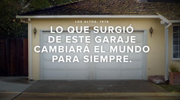 Película Steve Jobs cartel fondo web en español