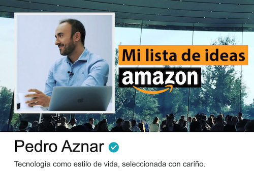 Pedro Aznar Amazon Influencer Page